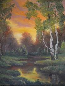 Twilight Fall / Die Dämmerung Herbst von Apostolescu  Sorin