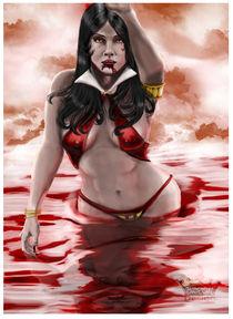 Vampirella Painting von Barondzines Baron Pollak