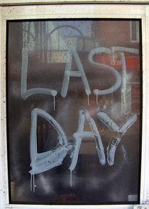 Last Day von Raphael Mahon