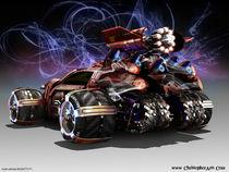 multi vehicle Bugatti F1 by Christopher Parnian
