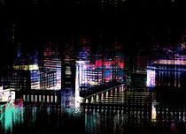 stuttgart city bei nacht III  - stuttgart city at night III von augenwerk