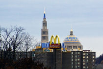 Basilica and McDonalds Sign