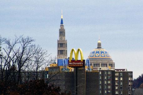 Basilica-and-mcdonalds-sign