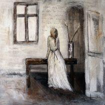 Frau am Fenster by Christine Lamade