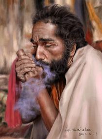 Old Man (Digital Painting) von ShuiZhou He