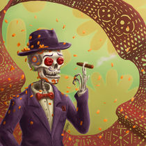 Day of the dead in Mexico von Sergio Rebolledo