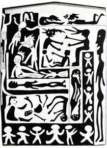Tribal Figures von Rachel van Balen