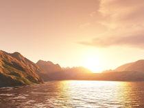 Sunset Bay by pangor