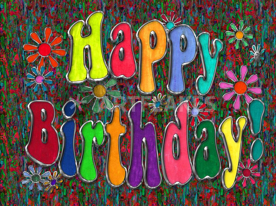 Happy Birthday Art Digital Art Art Prints And Posters By Blake