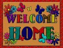 Welcome Home Sign von Blake Robson