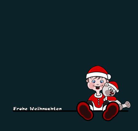 Jungeweihnachtengruen1
