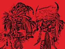 Tribal Princess and Relica von Gayle Lashinco