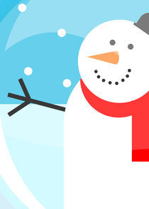 snowman by thomasdesign