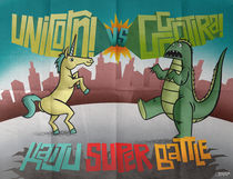 Kaiju Super Battle by andrew bargeron