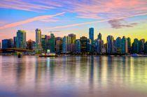 Vancouver & Sunset von Luis Henrique de Moraes Boucault
