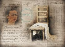Hommage Frida Kahlo by Christine Lamade