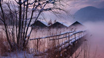 wintermorgen von Norbert Maier