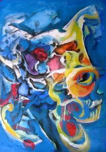 Blue Spirit von Magie Traynor