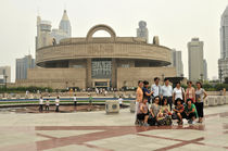 World souvenir: Shanghai, People's square, the Shanghai's Museum  by Manel Clemente