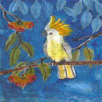 'bird in the blue' by paula bettam