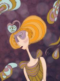 Princess Curly by Gisele Kikko
