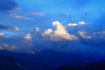 Rosy cloud in the evening (Shangeri-La, YunNan, China) by ShuiZhou He