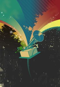 gramophone by Robert Filip