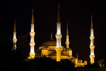 Sultanahmet Blue Mosque by Evren Kalinbacak