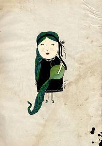 Aquarius Girl von Kristina  Sabaite