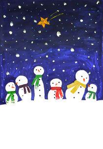 new year greeting card by Anna Ivanova