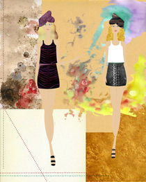 Fashion Twins von Dolores Salomon