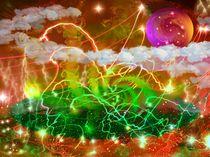 Electric rain von Janos Fazekas