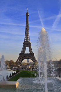 Eiffel Tower from the Trocadero Gardens von Louise Heusinkveld
