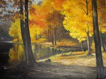 Autumn Silence /  Stille Herbst by Apostolescu  Sorin