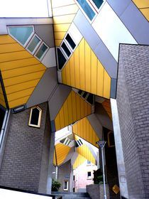 Kubushäuser, Rotterdam von Eva-Maria Steger