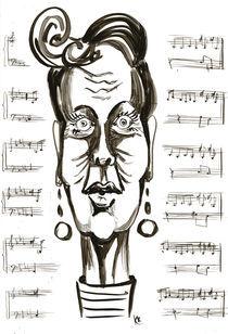 Teacher of music by Katerina Kopaeva
