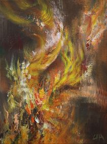 Elemente 1/ Feuer von Ute Hegel