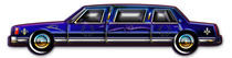 Classic Dark Blue Limo Royal Designer Graphics Package by Blake Robson