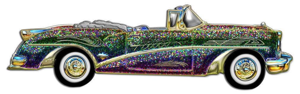 Classic-multicolor-convertible-car