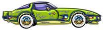 Classic T Top Corvette von Blake Robson