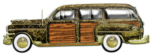 Classic-woody-station-wagon