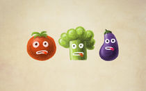 Funny Vegetables von Boriana Giormova
