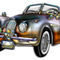 Convertible-classic-metallic-sports-car