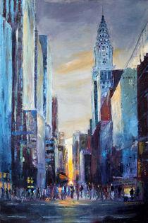 In den Häuserschluchten von Manhattan von Ulla Schönhense