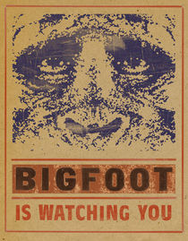 BIGFOOT IS WATCHING YOU by Marsel Onisko