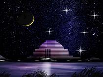 Himmel über dem Observatorium. by Bernd Vagt