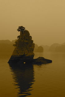 Halong Bay Reflection  von Benjamin Wilkinson