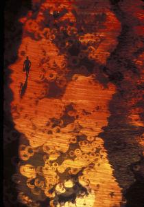 Man on Beach Fantasy by Ed Rooney