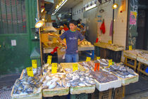 Chinatown fish market by Ed Rooney