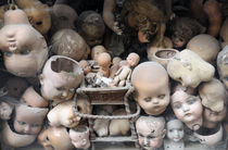 Doll heads by Ed Rooney